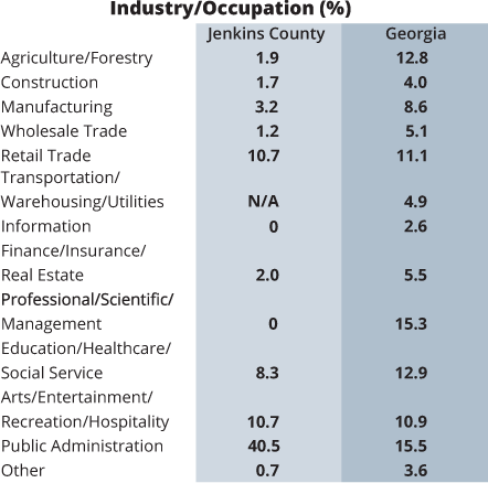 Jenkins County - Home